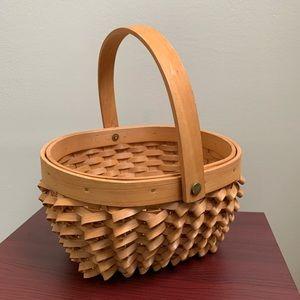 Unique woven farmhouse basket